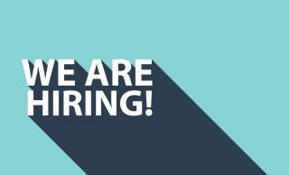 we are hiring! graphic